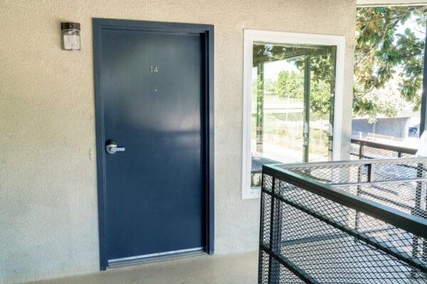 intern housing in LA Front Door