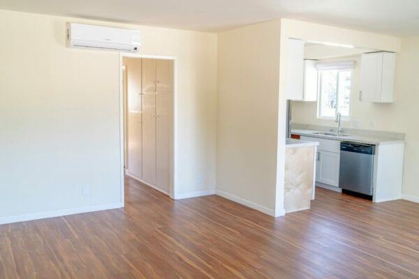 Intern housing in LA entryway