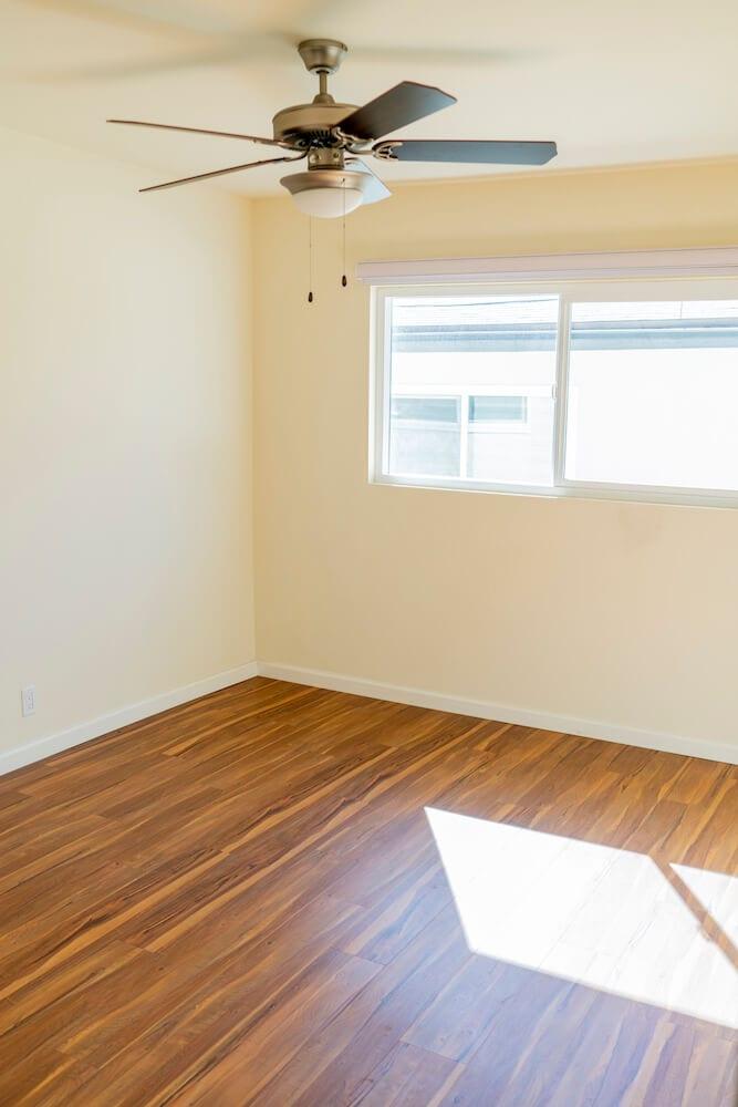 LA Intern Student Housing Bedroom Side