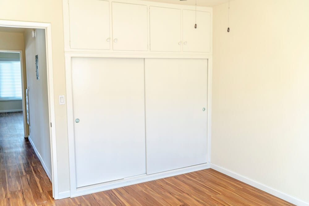 intern housing in LA Bedroom Closet
