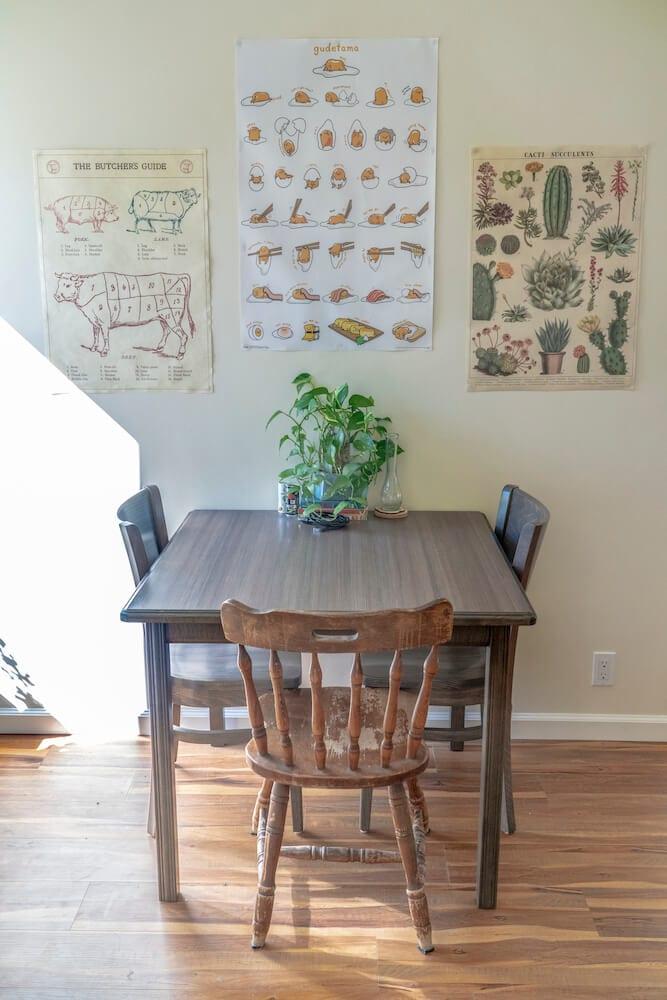 LA Intern Student Housing Dining Table