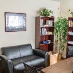 LA Intern Student Housing couch