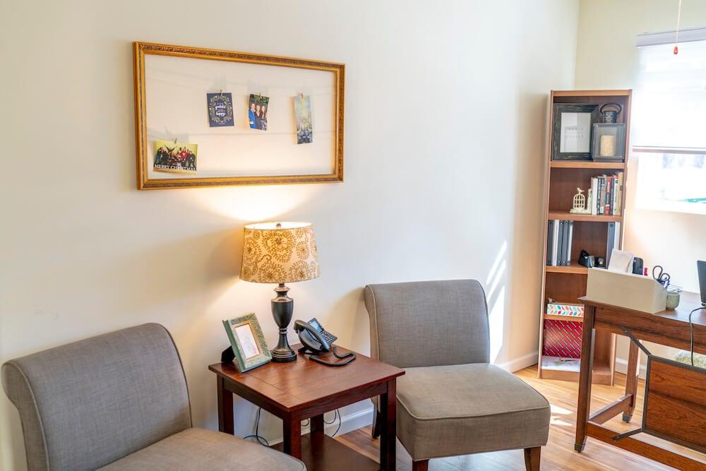 intern housing in LA side chair