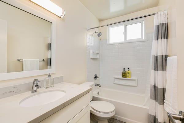 Bathroom at Pasadena Corporate Housing