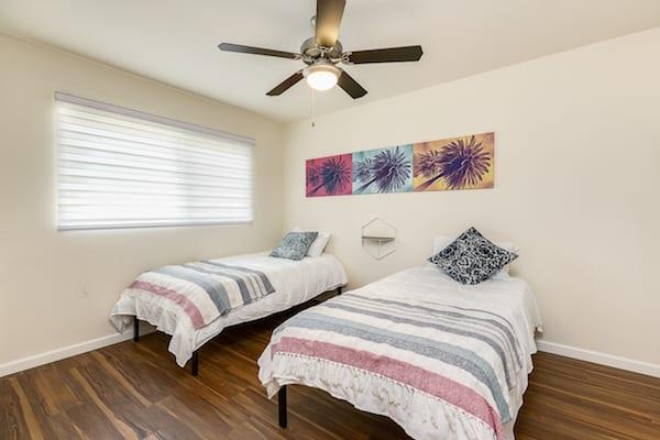 Bedroom at Pasadena Corporate Housing